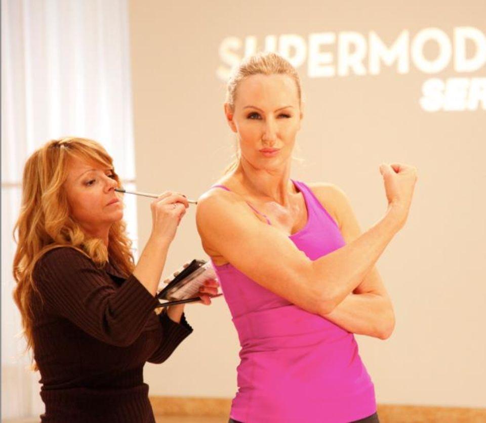 Andrea Orbeck macht Stars wie Heidi Klum, Doutzen Kroes und Karolina Kurkova fit.
