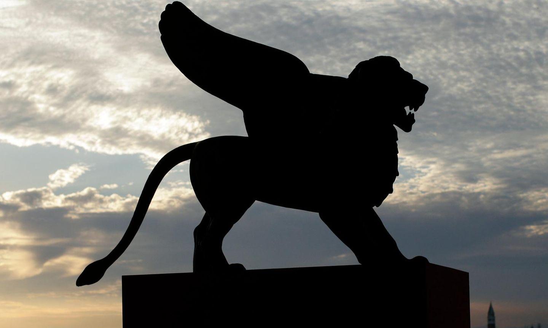 Der Löwe als Symbol der Filmfestspiele von Venedig