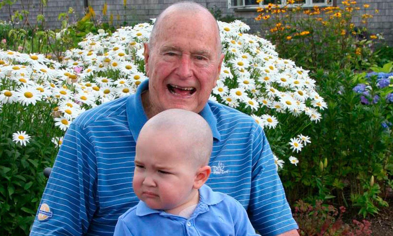 George H. W. Bush und der zweijährige Patrick
