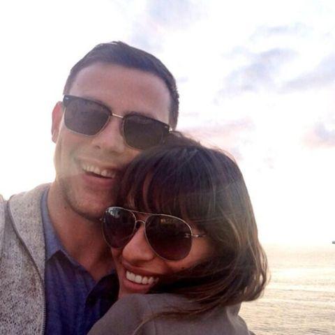 Cory Monteith und Lea Michele
