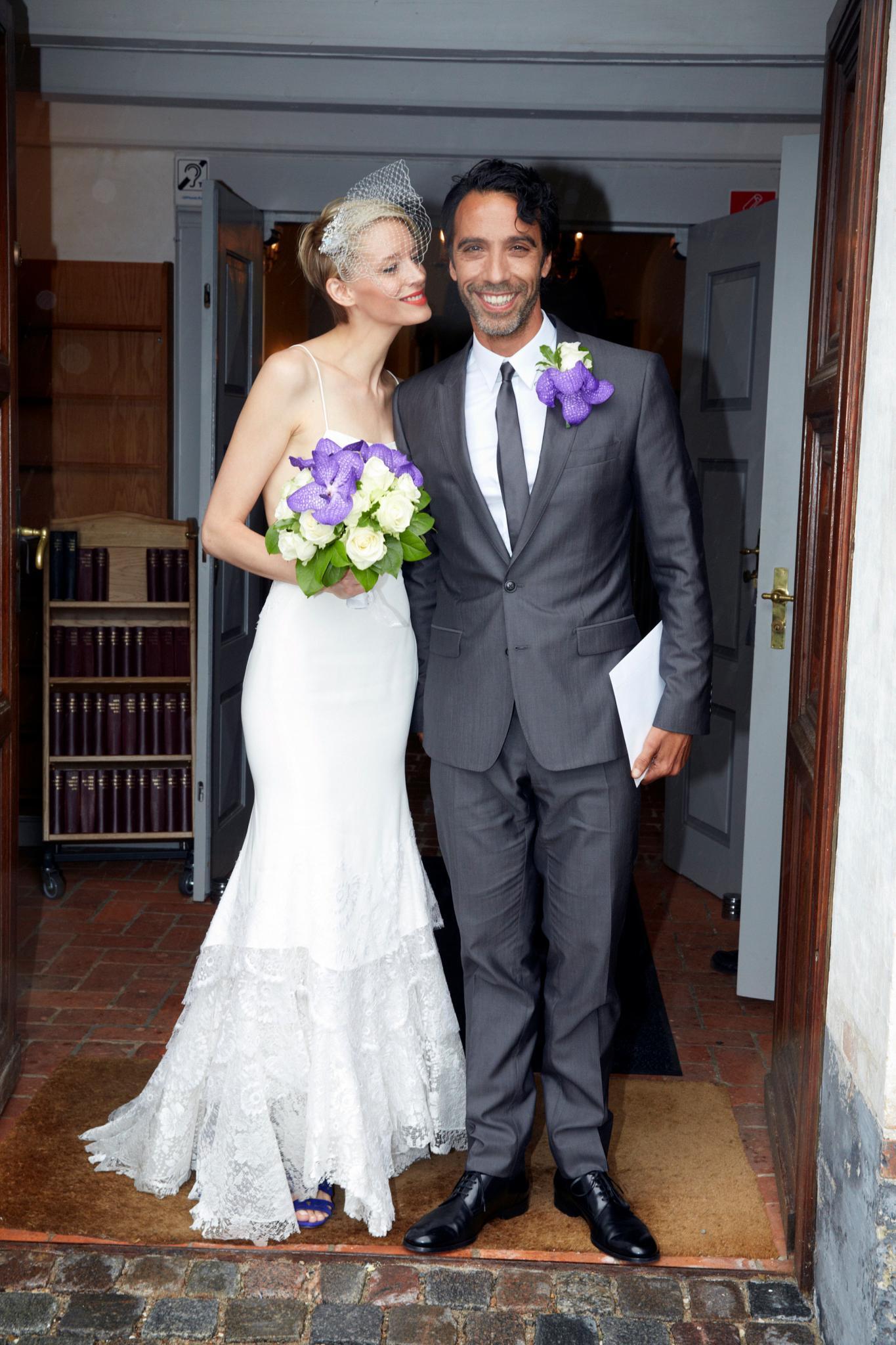 Carlos Leon und Betina Holte haben in Dänemark geheiratet.
