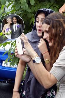 Lourdes Leon bei der Hochzeit von Vater Carlos Leon und Betina Holte