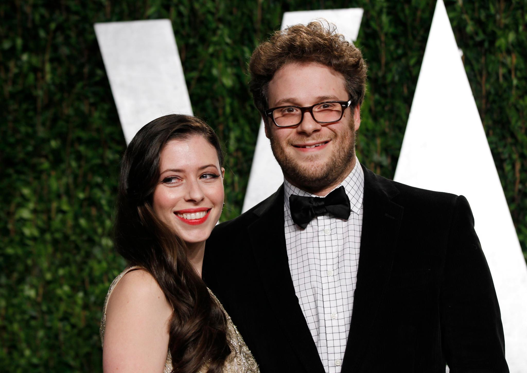 Mit Schauspielerin und Drehbuchautorin Lauren Miller, 31, ist Rogen seit Oktober 2011 verheiratet.