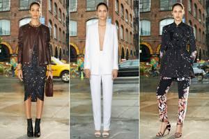 Klare Schnitte und Farben: Tiscis aktuelle Kollektion für das Pariser Luxushaus Givenchy ist minimalistisch und glamourös