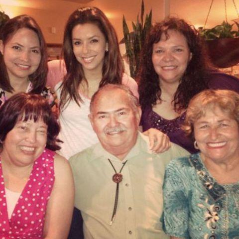 Eva Longoria und Familie