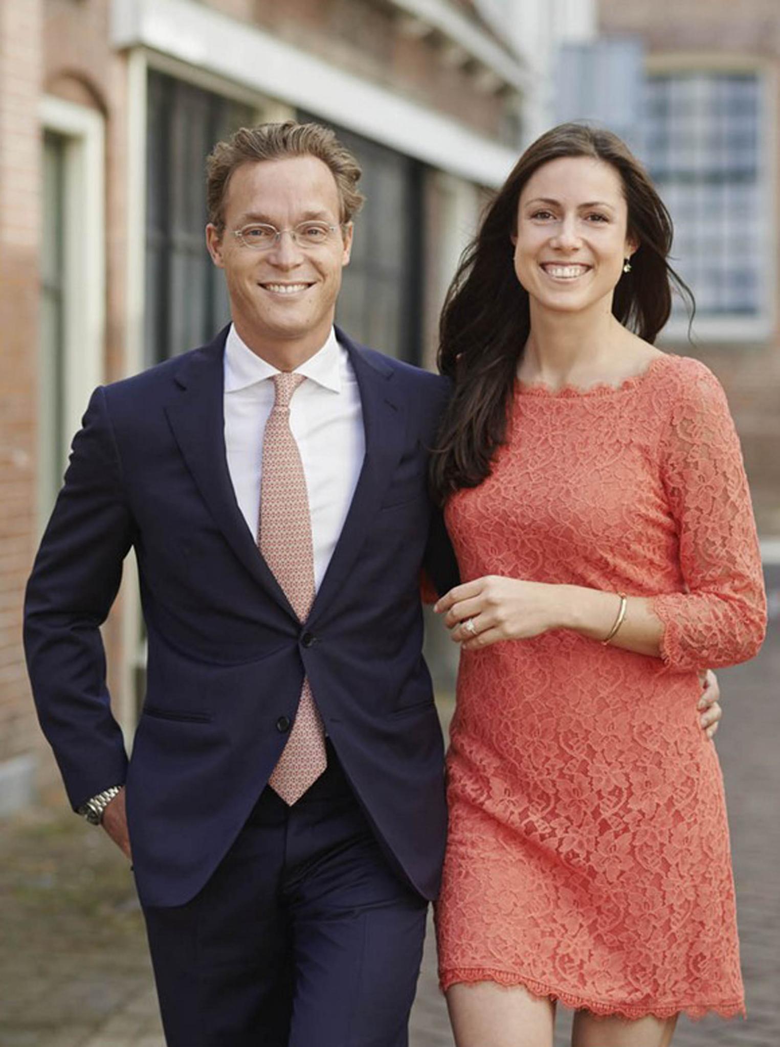 Prinz Jaime von Bourbon-Parma und seine Verlobte Viktória Cservenyák