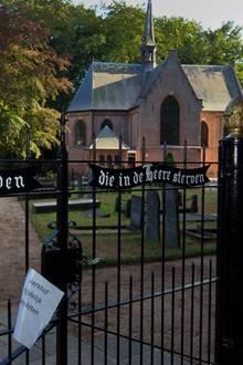 Die Stulpkerk in Lage Vuursche - auf dem angrenzenden Friedhof wird Prinz Johan Friso am 16. August begraben.