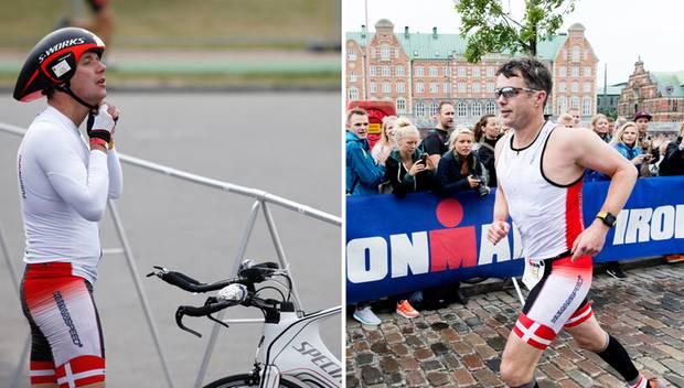 Kronprinz Frederik landete beim Ironman in Kopenhagen auf dem 665. Platz.