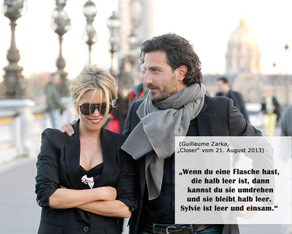 Sylvie van der Vaart vs. Guillaume Zarka: Trennungsschlacht per Interview