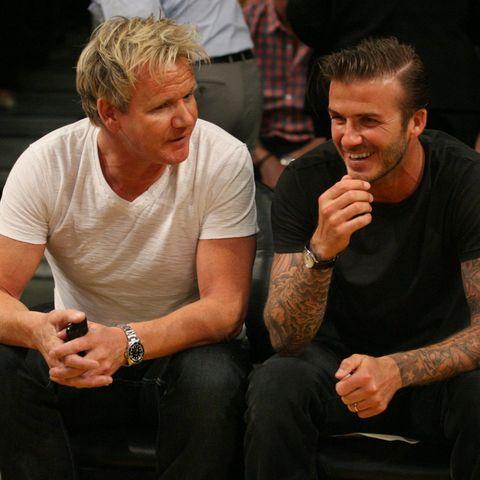 Gordon Ramsay, David Beckham