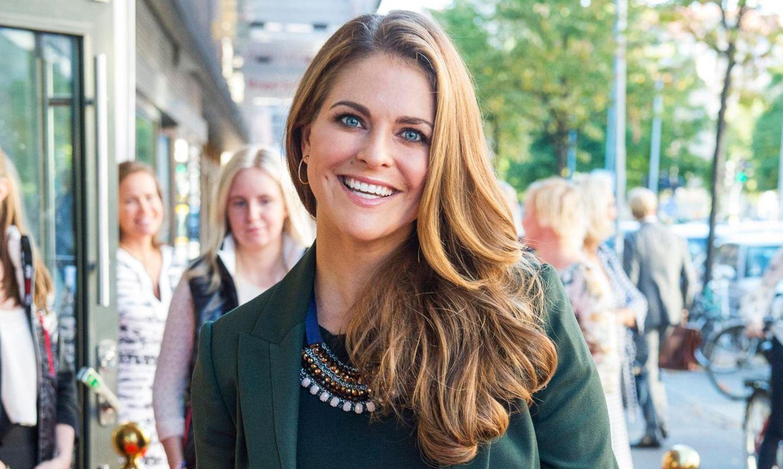 Prinzessin Madeleine: Glücklich schwanger in Stockholm