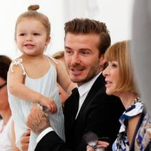 Harper, David Beckham, Anna Wintour
