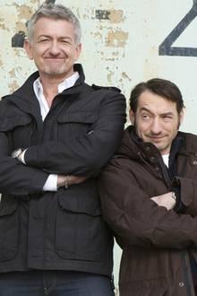 "Berliner ""Tatort"": Dominic Raacke und Boris Aljinovic ermitteln seit 2001 als Kommissare ""Till Ritter"" und ""Felix Starke"" in der Hauptstadtversion des Krimis."