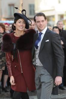 Claire Lademacher und Prinz Félix