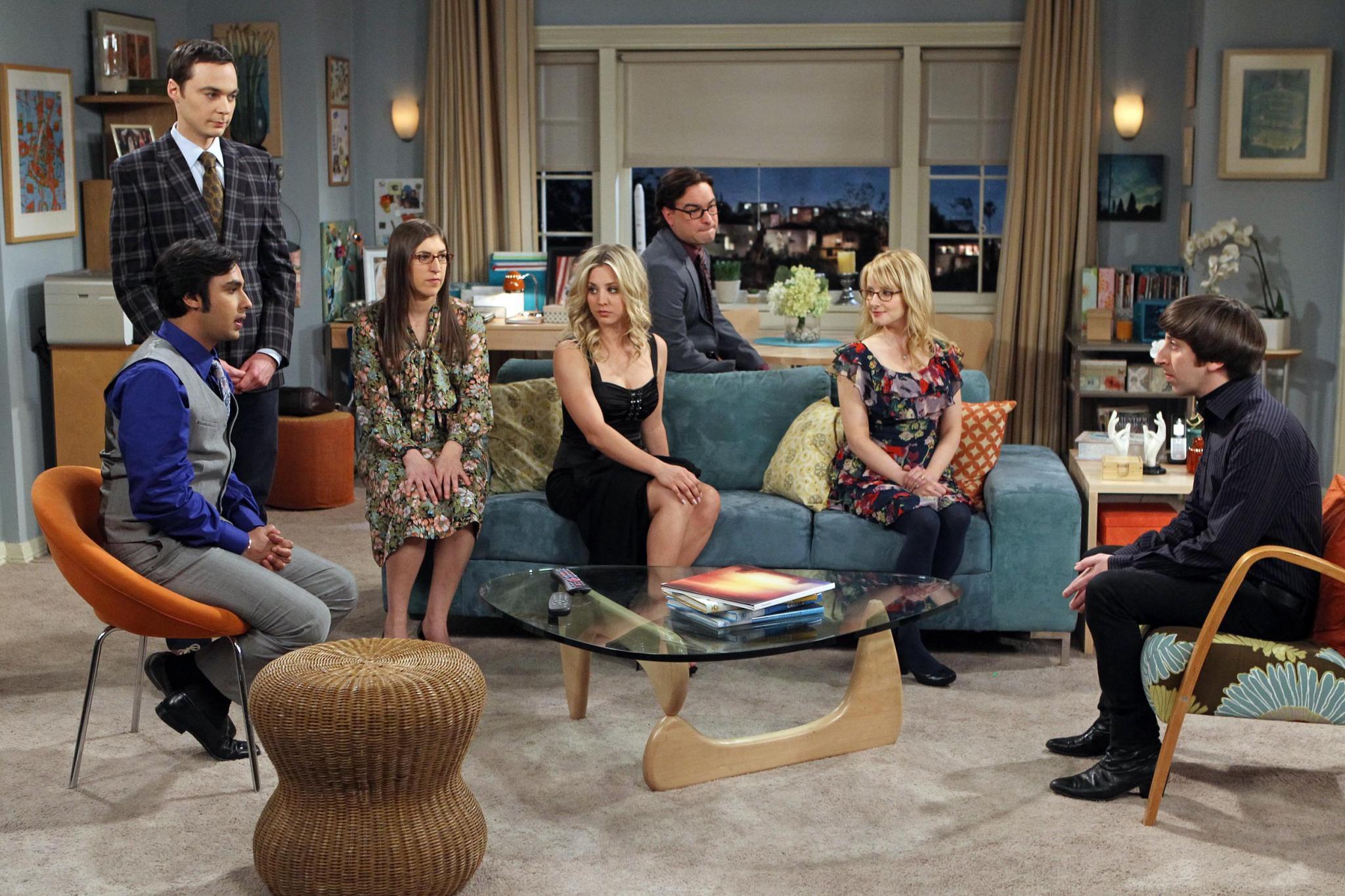 """Auch nach sechs Staffeln noch wahnsinnig erfolgreich: Die Stars aus """"The Big Bang""""-Theory."""