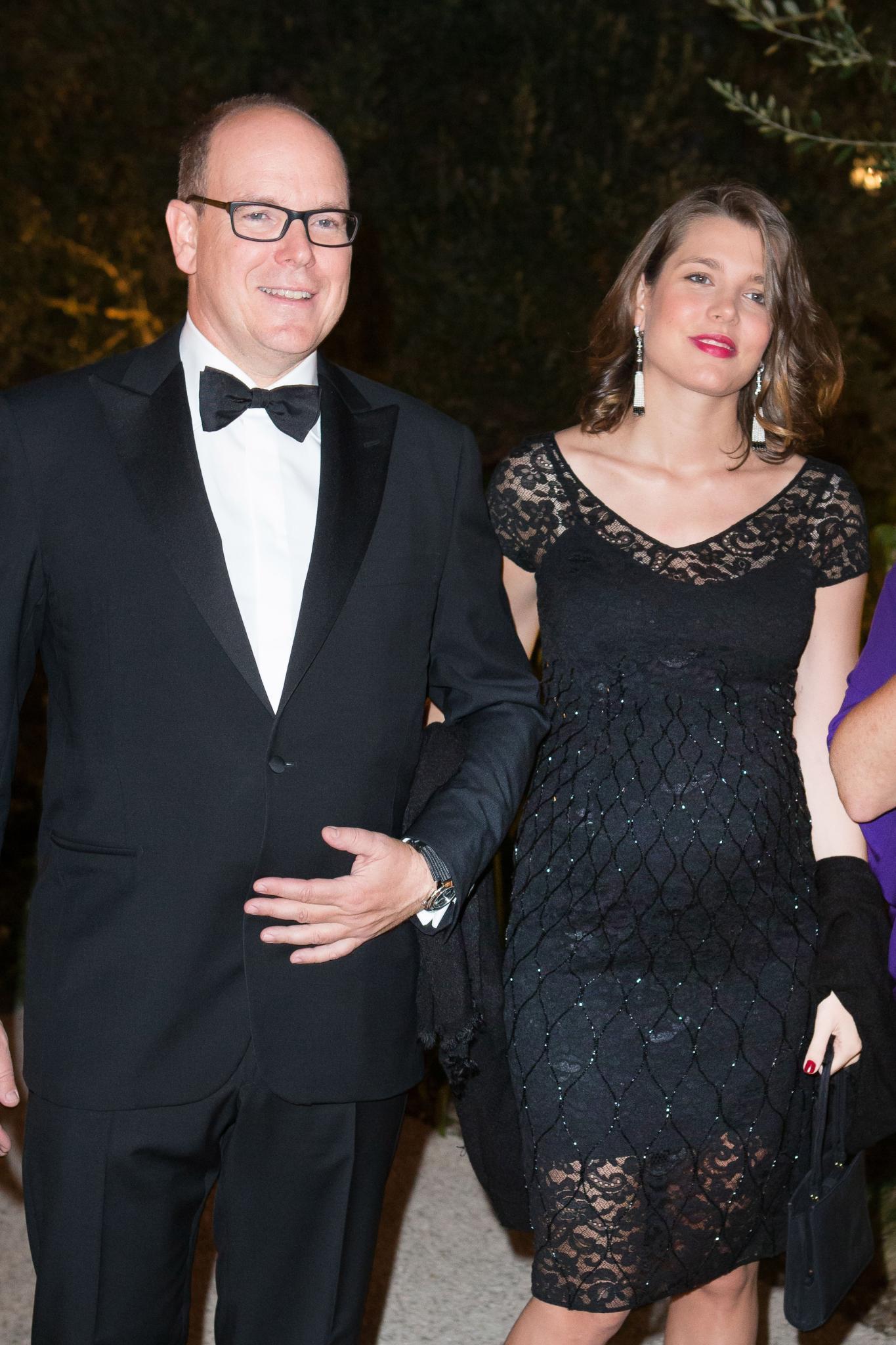 Fürst Albert von Monaco und Charlotte Casiraghi