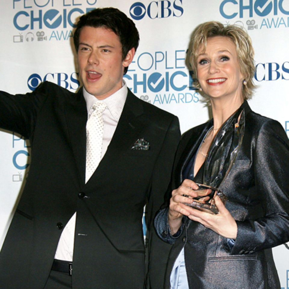 Cory Monteith und Jane Lynch