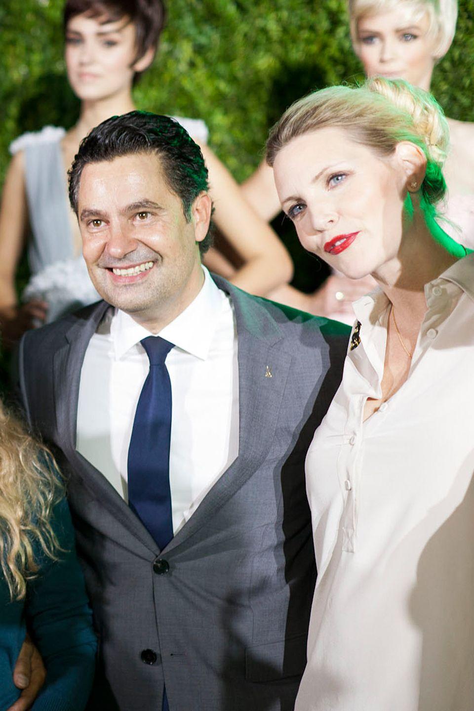 Nadja Auermann, Mitglied im Meissen Kompetenzteam Couture