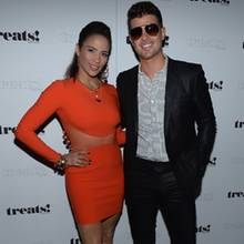 Paula Patton und Robin Thicke