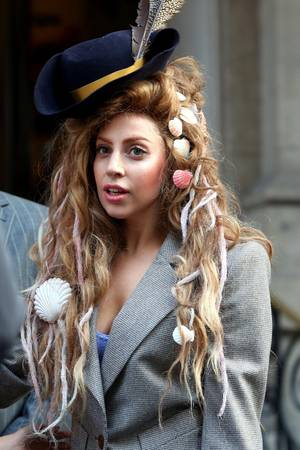 sexy Fotos von Lady Gaga