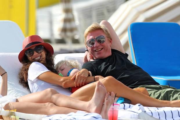 In der lebenslustigen Lilly hat Boris seine große Liebe gefunden. Das Paar hat 2009 geheiratet, 2010 kam Sohn Amadeus auf die Welt.
