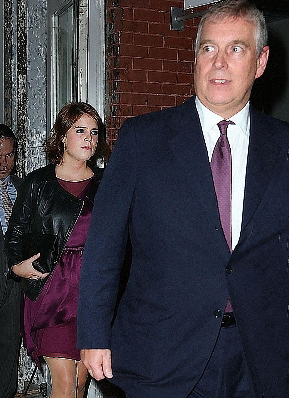 """Prinz Andrew besuchte seine jüngste Tochter auch schon in New York und lud sie zum Dinner ins Restaurant """"ABC Kitchen"""" ein."""