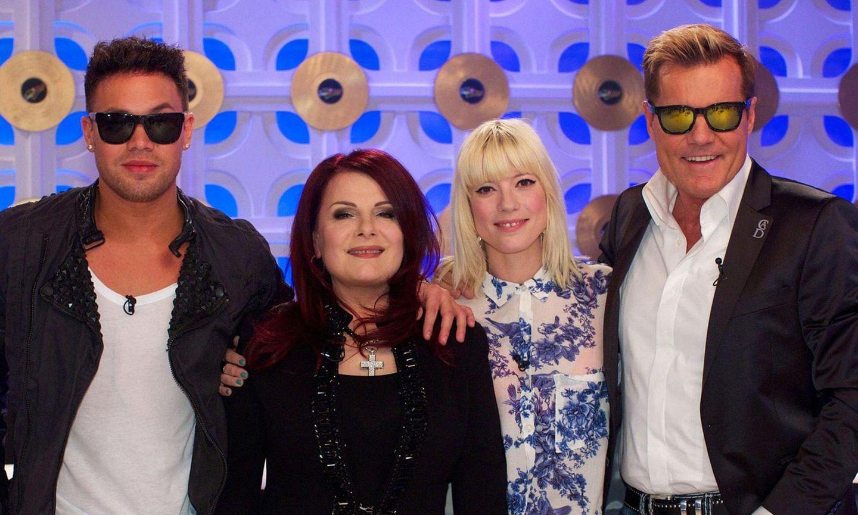 Prince Kay One, Marianne Rosenberg, Mieze Katz, Dieter Bohlen.