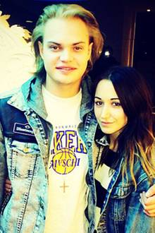 Wilson Gonzalez Ochsenknecht und Freundin