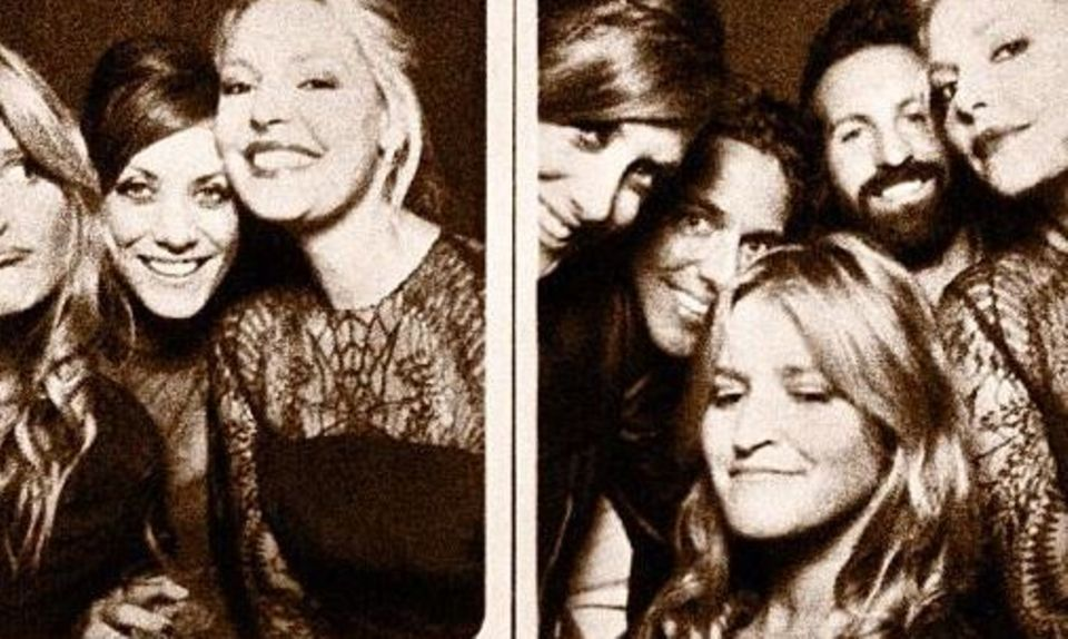 Katherine Heigl mit ihrem Ehemann Josh Kelly, Kate Walsh und zwei Freundinnen bei der Hochzeit ihres Kollegen T.R. Knight.