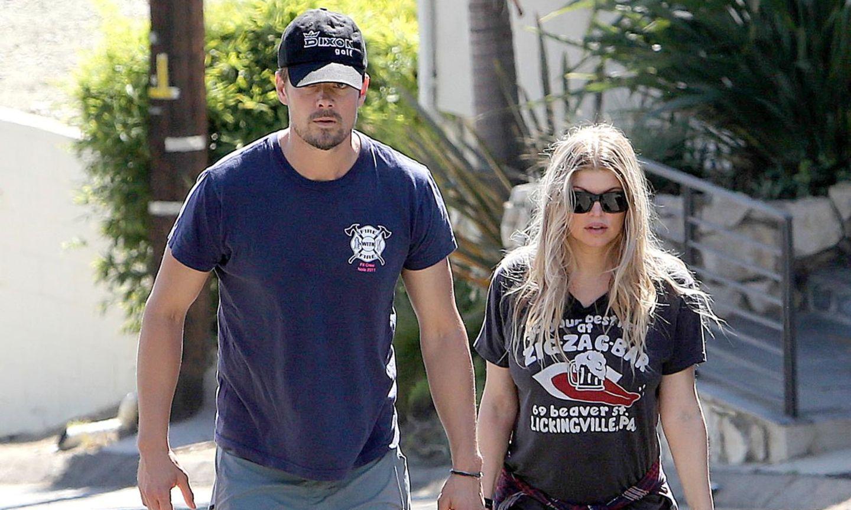 Fergie+Josh Duhamel: Stippvisite auf der Baustelle