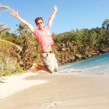 Wayne Carpendale freut sich über die Flitterwochen auf den Seychellen.