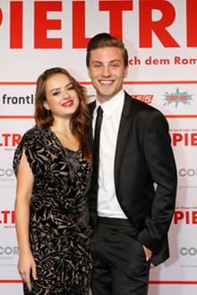 Michelle Barthel und Jannik Schümann