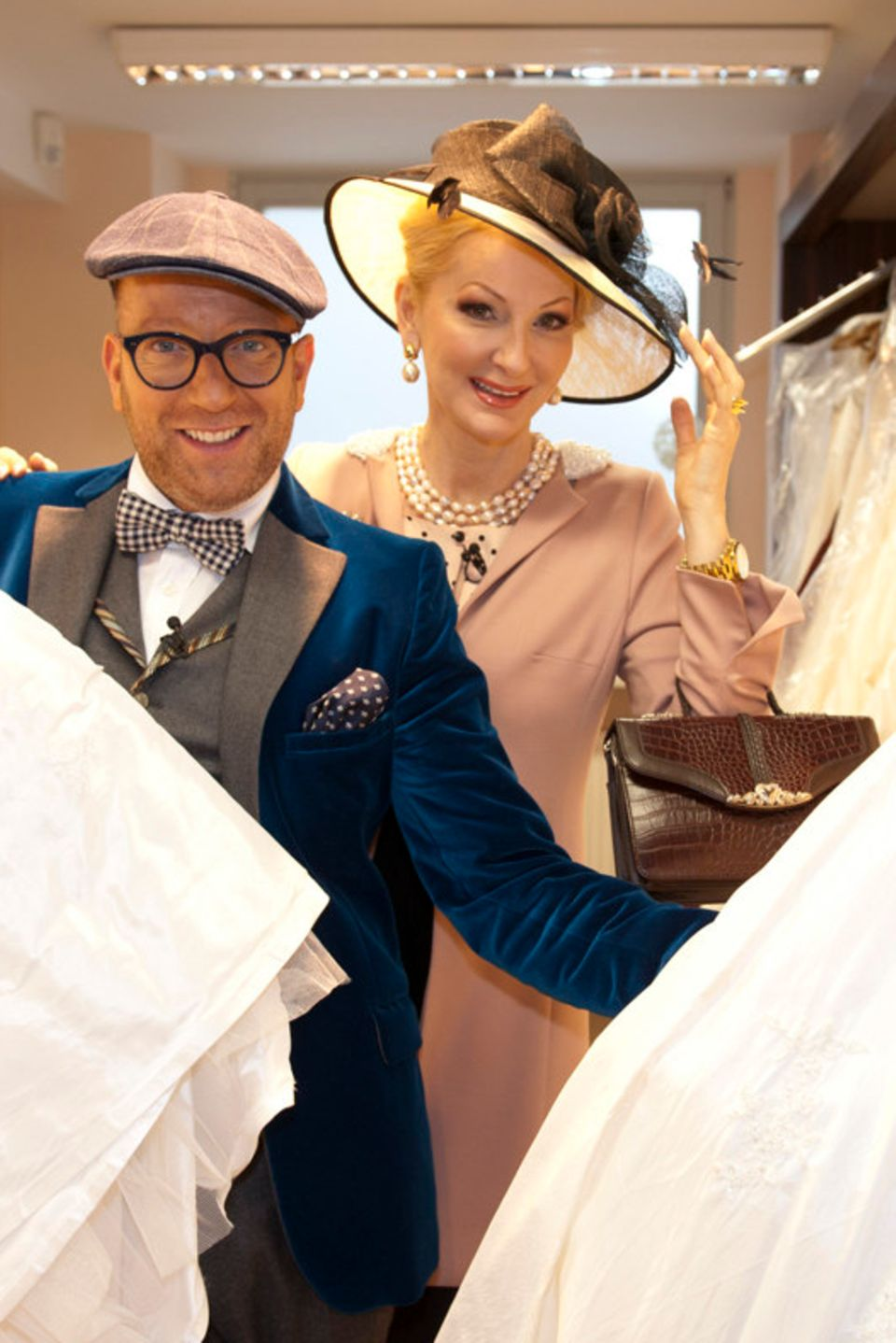 """Thomas Rath und Désirée Nick sind """"Die Promi-Hochzeitsplaner""""."""
