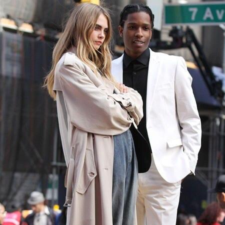 Cara Delevingne und A$AP Rocky
