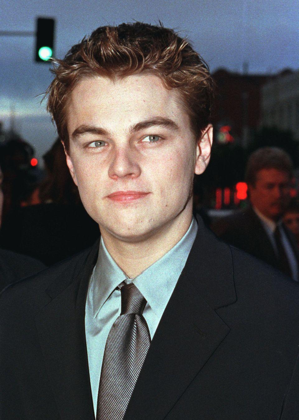 "Leonardo DiCaprio 1997. Ende des Jahres wurde er mit ""Titanic"" weltberühmt."