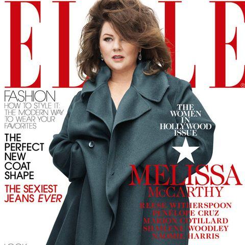 """Melissa McCarthy auf dem Cover der """"Elle"""""""