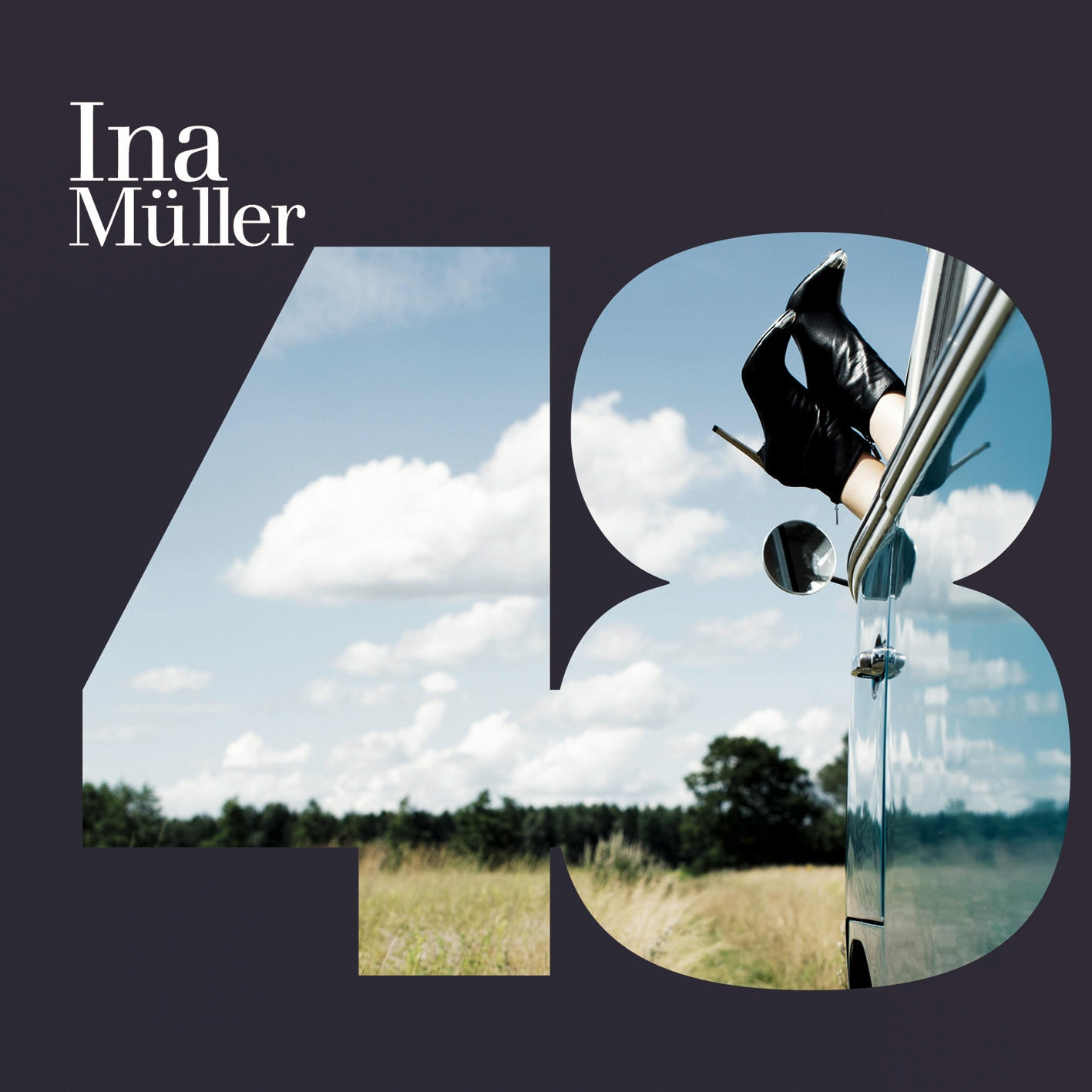 """Das neue Album """"48"""" knüpft an gute Müllersche Traditionen an: Die Sängerin verquickt witzige, ironische Texte mit knackigen Melodien."""