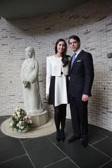 Prinz Félix mit seiner Frau Claire in Japan.
