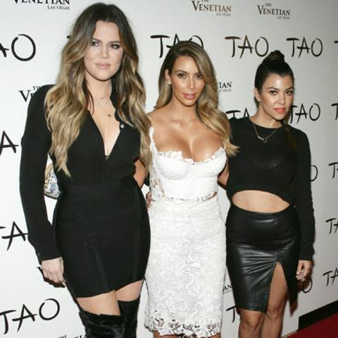 Khloé, Kim und  Kourtney Kardashian