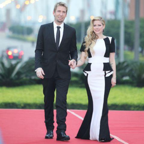 Chad Kroeger und Avril Lavigne