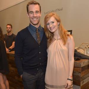 James Van Der Beek und Kimberly Brook