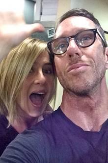Jennifer Aniston + Chris McMillan