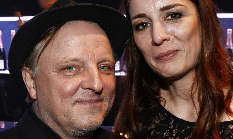 """Zeigten sich auf der 65. """"Bambi""""-Verleihung zum ersten Mal zusammen: Axel Prahl und seine neue Freundin Silja."""