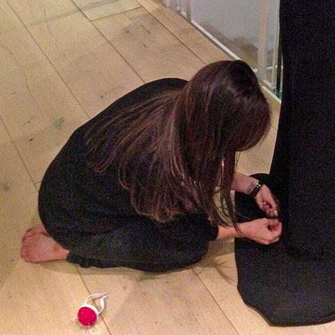 Victoria Beckham + Eva Longoria