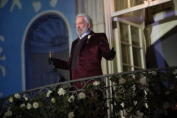Will eine Revolution der Diskritke mit aller Macht verhindern: President Snow (Donald Sutherland).