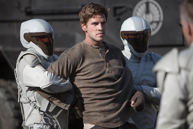 Katniss' Freund Gale (Liam Hemsworth) lehnt sich gegen das Regime auf - und muss dafür bezahlen.