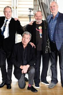 Michael Palin, Eric Idle, Terry Jones, Terry Gilliam und John Cleese