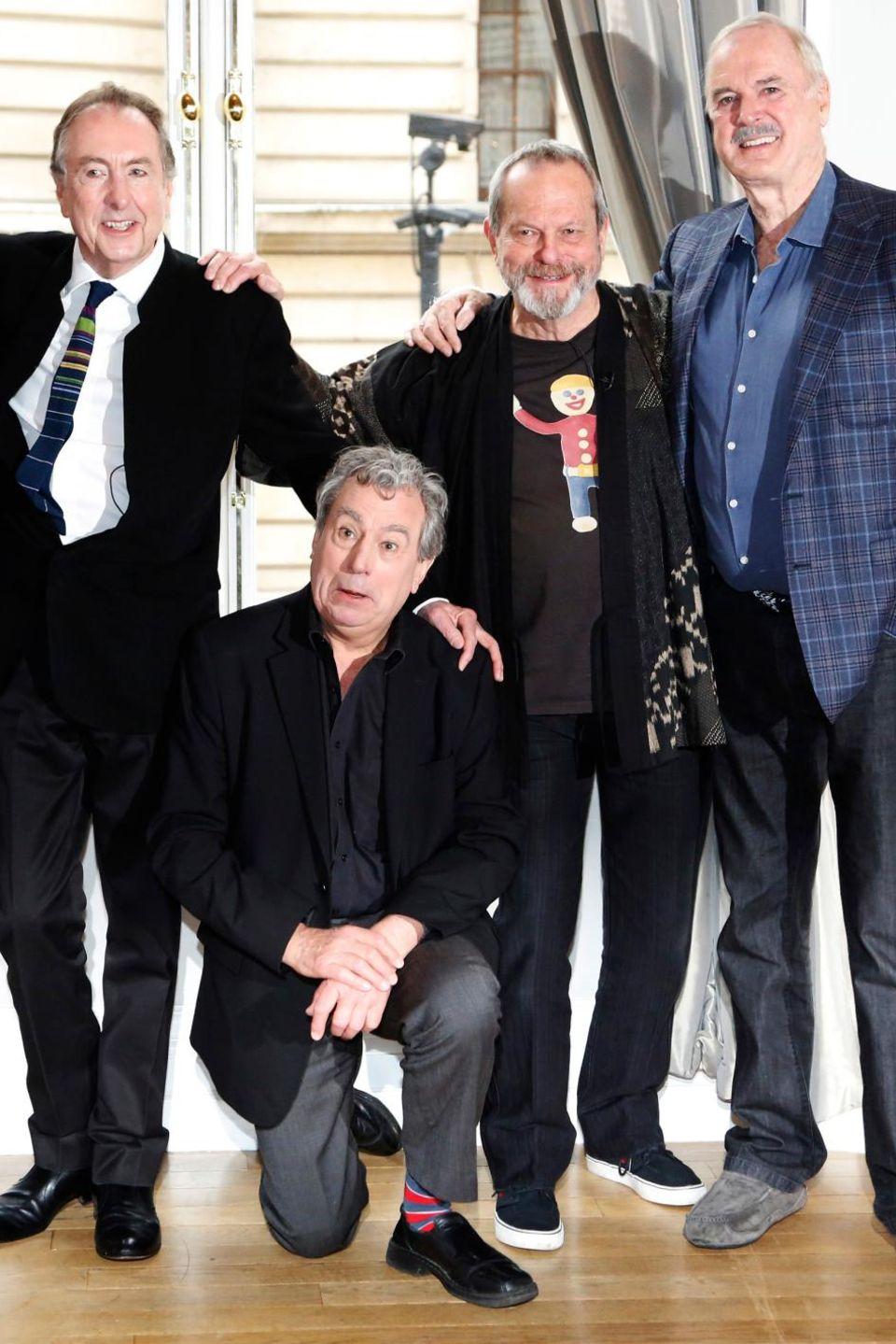 Michael Palin, Eric Idle, Terry Jones, Terry Gilliam und John Cleese