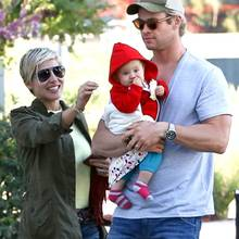 Elsa Pataky, Chris Hemsworth, India Rose