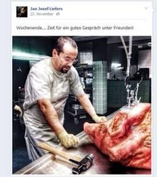 """Dieser Post sorgt für Ärger: Jan Josef Liefers zeigte ein Foto von den """"Tatort""""-Dreharbeiten - mit ungeahnten Folgen."""